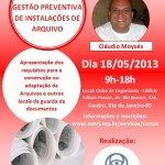 Novo curso: Implantação e Gestão Preventiva de Instalações de Arquivo