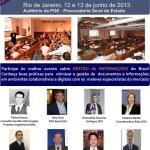 Confira a programação e palestrantes do eDOC 2013