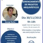 Nova turma de Gerenciamento de Projetos Arquivísticos em novembro!