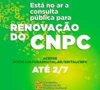 Participe da consulta pública para renovação do CNPC/MinC!