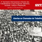 4º Seminário Internacional o Mundo dos Trabalhadores e seus Arquivos
